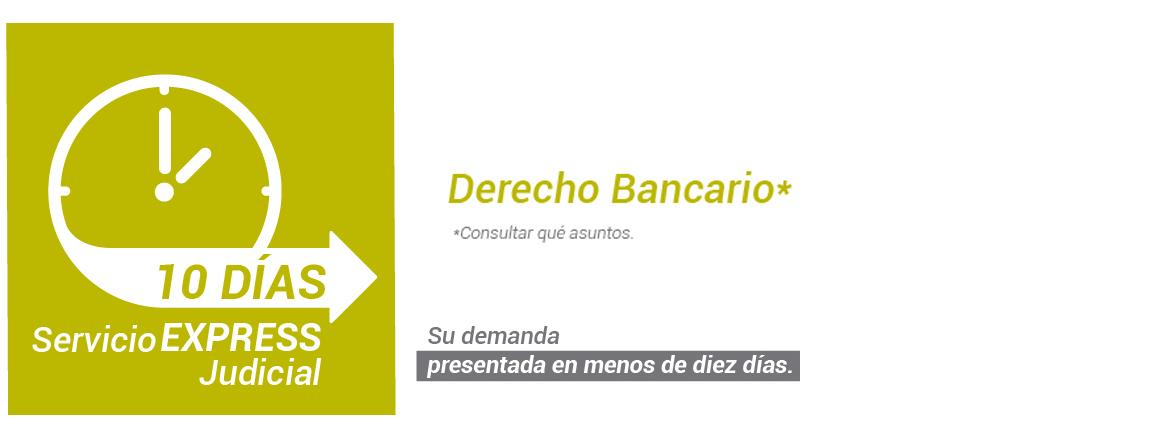 Abogados especialistas Derecho bancario